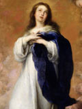 Detail from The Immaculate Conception of the Venerable Ones by Bartolomé Esteban Murillo