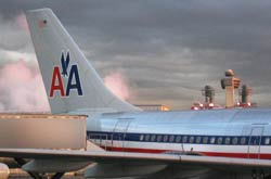 American Airlines Airbus jet