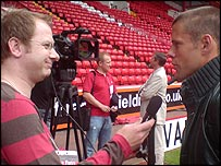 Paul Walker interviews James Beattie