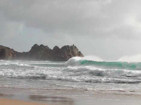Porthcurno Beach - Tom Large