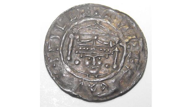 Silver Penny Of William The Conqueror