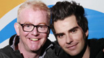 Chris Evans and Kelly of Stereophonics