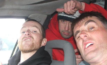 Halyins. Jay, eyes well and truly on the road to the ocean, picks up a few dodgy hitchers. Mar 07