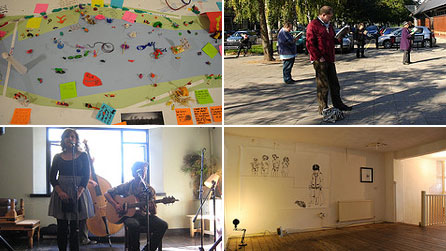 A selection of images from last year's Made in Roath festival, courtesy of Fra Beecher
