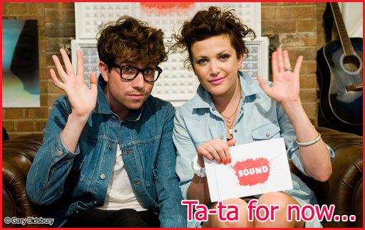Annie & Grimmy - Ta-ta for now!