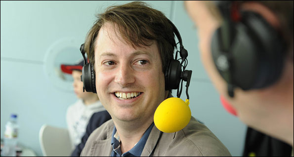 David Mitchell speaks to Jonathan Agnew