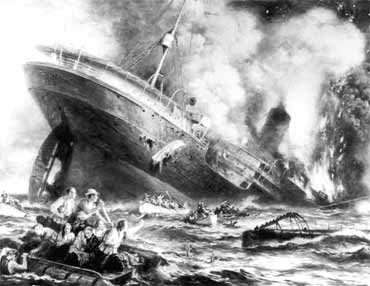 BBC - History - World Wars: The War at Sea: 1914 - 1918