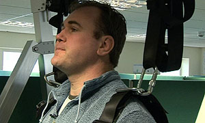 Scott Quinnell in documentary Quinnell's Last Test