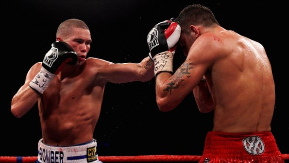 Tony Bellew fights Nathan Cleverly