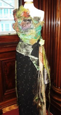 Bbc Blast Art Design Nature Inspired Dress