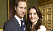 Prince William and Catherine Middleton's engagement photo