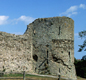 Pevensey Castle in East Susex was a Roman fort. The Saxons captured it. Later the Normans made it one of their castles.
