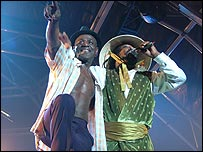 Neville Staple and Amlak Tafari