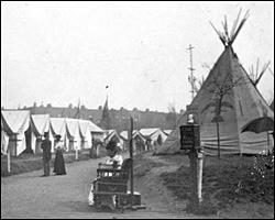 teepees in Salford