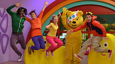 Jump up and dance with CBeebies