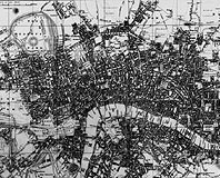 Leigh's Map of London in 1818