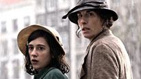 Anne and Edith Frank (Ellie Kendrick and Tamsin Greig)