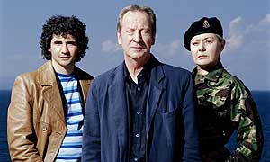 Iain Robertson, Bill Paterson and Barbara Flynn in Sea Of Souls