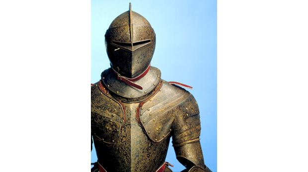 Armour owned by Henry Wriothesley, 3rd Earl of Southampton- Shakespeare's only acknowledged patron.  C Royal Armouries