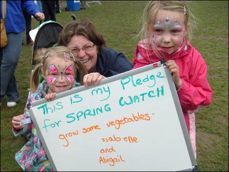 Springwatch pledge at the Riverside Festival