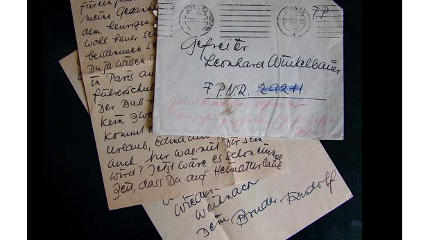 Unopened letter to the Russian Front '43