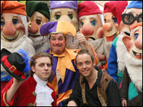 Cast of Snow White and the Seven Dwarfs