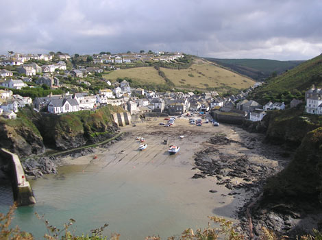 Port Isaac harbour by Melanie Pegg