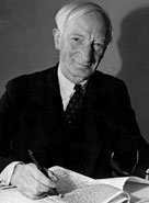 William Beveridge, responsible for the 'Beveridge Report' which has since formed the basis for much social legislation c.1943