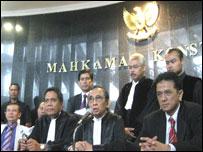 Bibit dan Chandra di Mahkamah Konstitusi