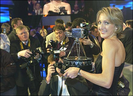 Paula Radcliffe, Sports Personality Of The Year 2002
