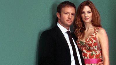 Rupert Penry-Jones and Kelly Reilly