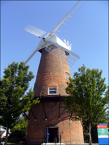 Bbc Essex In Pictures Rayleigh Windmill