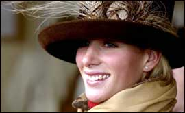 Zara Phillips GETTY