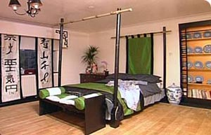 Traditional Japanese Bedroom bbc - homes - design - japanese