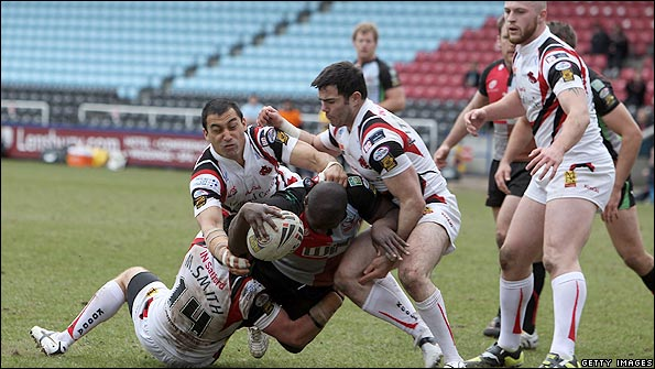 Harlequins and Salford