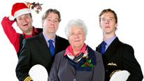 John Finnemore, Roger Allam, Stephanie Cole and Benedict Cumberbatch star in a Cabin Pressure Christmas special