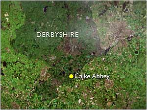 Calke Abbey map