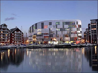 Design for the UCS campus on Ipswich's waterfront