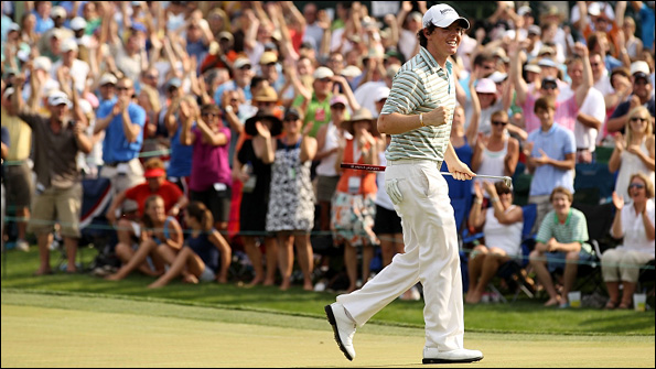 Rory McIlroy was simply magnificent in his final round at Quail Hollow