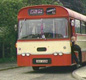 This image shows a local school bus from 1986. How does this compare to the transport you use to get to school today?
