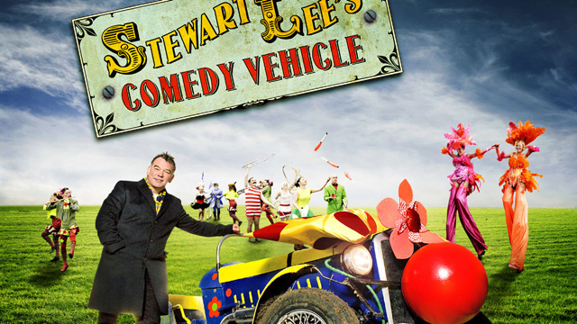 Steward Lee's Comedy Vehicle has been commissioned for another two series.