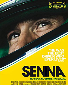 The poster for the new movie 'Senna'
