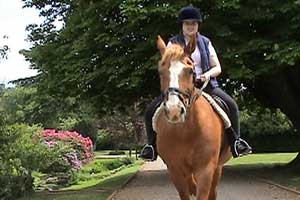Horse riding has been a great joy to Amelia and is a fantastic way of doing the physiotherapy...