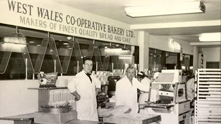 Bakers at the West Wales Co-operative