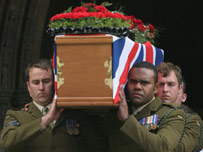 203 Military funeral