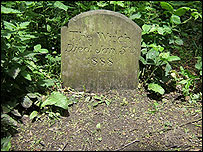 The grave in Witch Wood