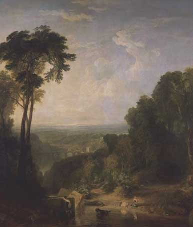 Crossing the Brook by J.M.W. Turner