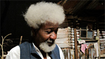 Nobel Prize-winning author Wole Soyinka