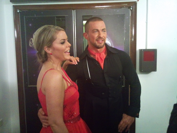Patsy Kensit and Robin Windsor