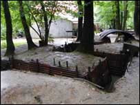 Trenches at Sanctuary Wood, Ypres, Belgium